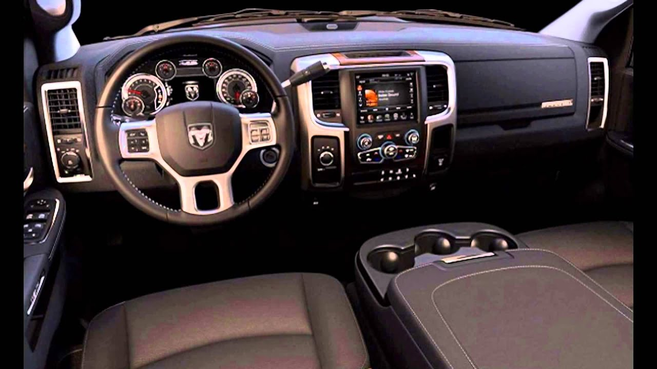 2016 dodge ram 3500 big horn interior youtube. Black Bedroom Furniture Sets. Home Design Ideas