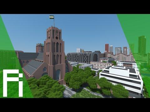 Rotterdam In Minecraft - Trailer