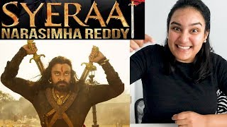 Sye Raa Narasimha Reddy | Official Teaser REACTION | Dr. Chiranjeevi |Sye Raa Teaser Reaction!