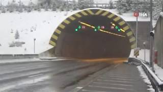 Bolu Dağı Tüneline gidenler dikkat...