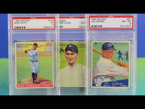 Old Baseball Card Napoleon Lajoie 1933106 Youtube
