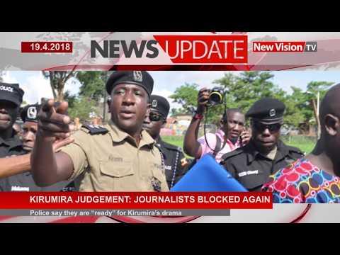 Journalists blocked again from covering Kirumira's judgement