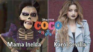 COCO Personajes y Actores de Voz Latino
