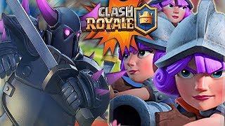 PEKKA Y TRIO DE MOSQUETERAS!!!!! Clash Royale byBloDz