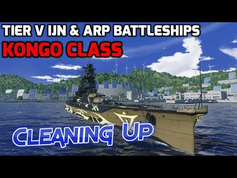 World of Warships - Ship Review: Kongo Class (ARP Haruna, Kirishima, Kongo)(WoWs gameplay)