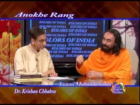 Interview with Swami Mukundananda Ji (part 2 of 2) - on GTV