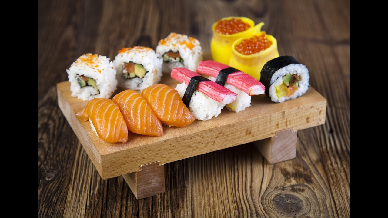 How to make sushi youtube for How to make online art