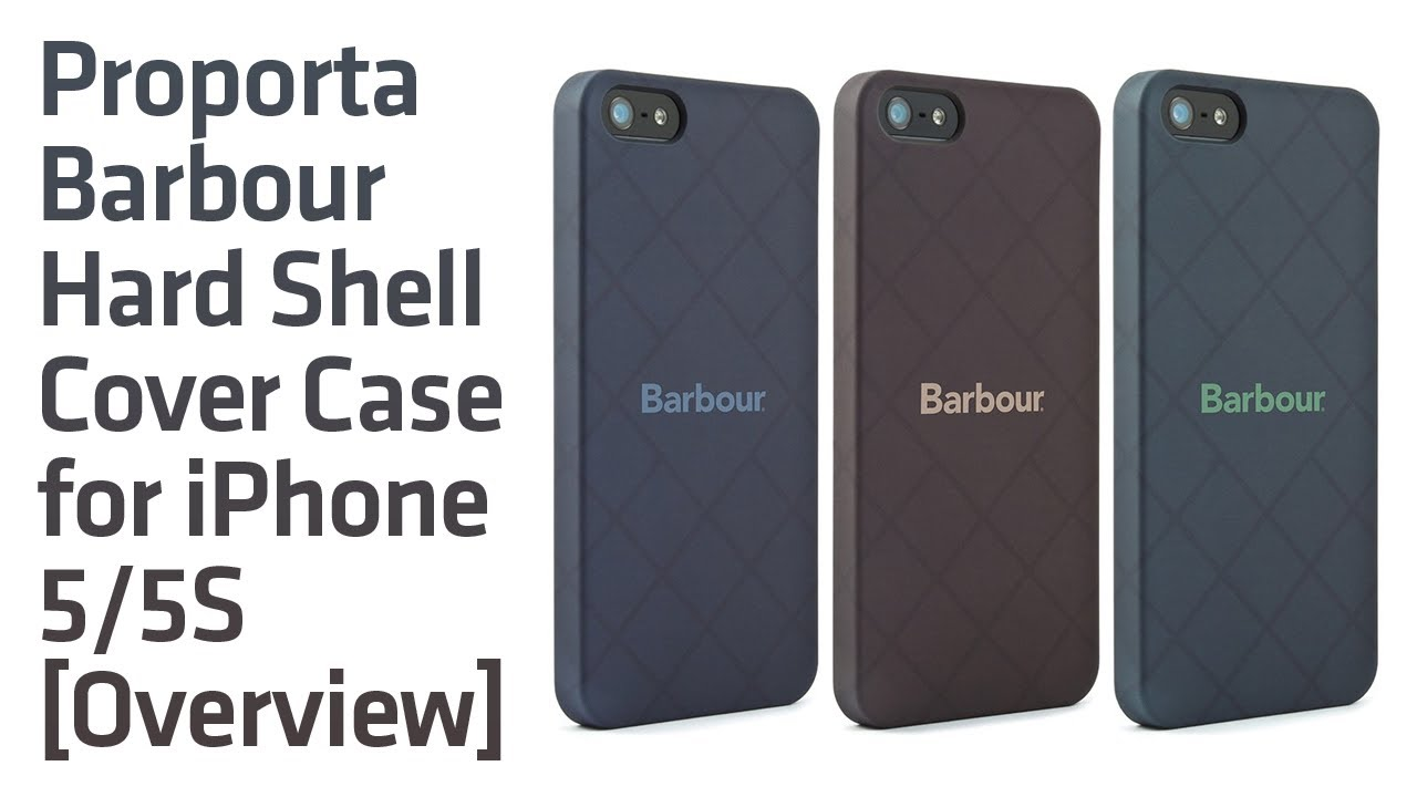 size 40 68351 e186e Proporta Barbour Hard Shell Cover Case for iPhone 5/5S [Overview]