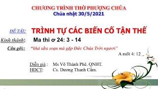 HTTL PHÚC ÂM - Chương Trình Thờ Phượng Chúa - 30/05/2021