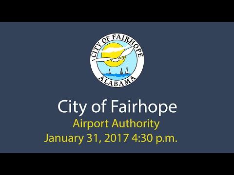 Airport Authority January 31, 2017