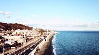 故郷の国府津海岸