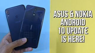 Asus Zenfone Max M1, Zenfone Live/ Lite, Nokia 5.1 Plus Android 10 Update | Call Recording Features?