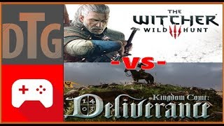 Which Game is Better? How does Kingdom Come Deliverance Stack up Against The Witcher 3: Wild Hunt