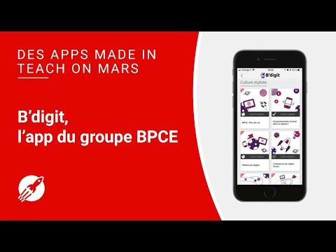 B'digit, l'application du Groupe BPCE