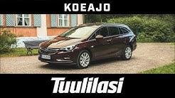 Koeajo: Opel Astra Sports Tourer Enjoy 1.4 Turbo CNG (2018) - Tuulilasi