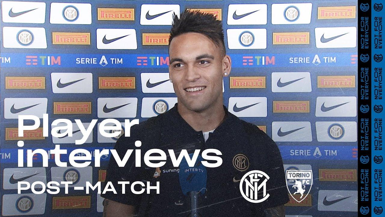 INTER 3-1 TORINO | LAUTARO MARTINEZ + DANILO D'AMBROSIO EXCLUSIVE INTERVIEWS [SUB ENG]