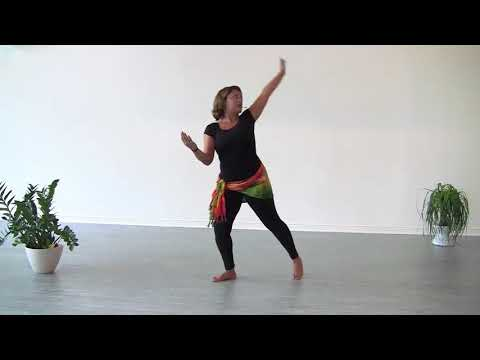 African Dance Movement, Step 4, Mirror Reflection, StepFlix Lessons