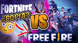 The Things Fortnite COPIED to Free Fire Top POS•