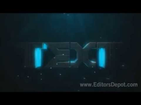 FREE Blue Theme 3D Intro Template