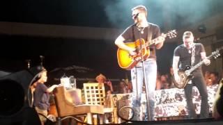 Eric Church with his son Boone McCoy  - Shotgun Willie (7/31/15) Nashville,  TN