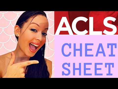 ACLS CERTIFICATION: 2020 IMPORTANT TIPS TO PASS THE ACLS/BLS CERTIFICATION LIKE A BOSS CHEAT SHEET
