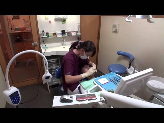 大阪市城東区関目高殿 松野歯科ポリリンホワイトニング