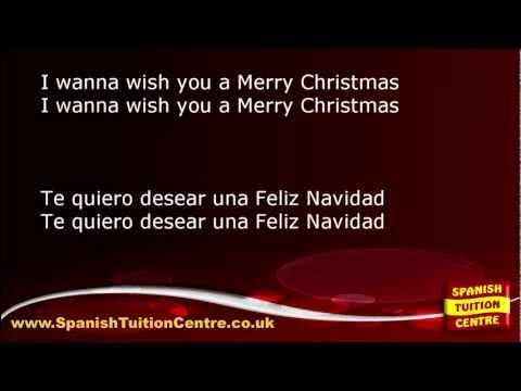 Learn Spanish Songs - José Feliciano - Feliz Navidad