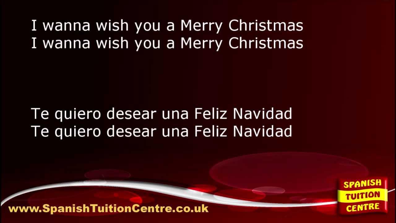 Learn Spanish Songs - José Feliciano - Feliz Navidad - YouTube
