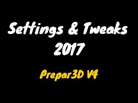 Prepar3D V4 Settings & Tweaks | V-Sync Trick No Stutters Guaranteed! by  CptVince