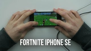 Fortnite Mobile on iPhone SE: Let's Play Playthrough
