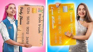 Fake Rich Girl vs Real Rich Girl