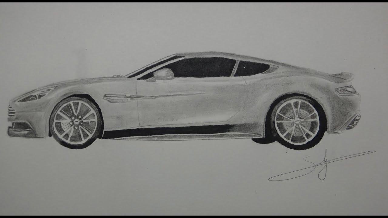 Draw Aston Martin Vanquish Youtube