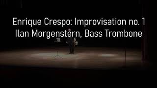 Enrique Crespo: Improvisation no. 1