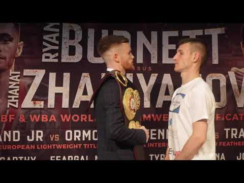 JAMES TENNYSON v DARREN TRAYNOR - OFFICIAL HEAD TO HEAD @ BELFAST PRESS CONFERENCE