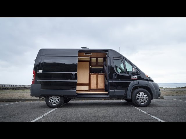 d4f656b6433254 Fold-away bed enlarges this well-crafted van conversion (Video ...