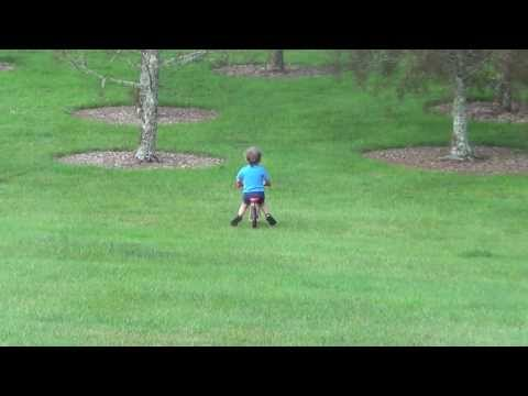 Awesome Dad Just Watches His Son Ride A Bike Into A Tree While Laughing Hysterically
