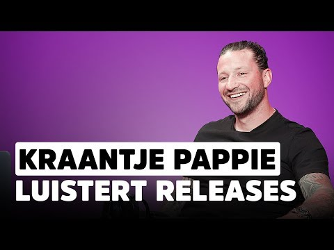 Kraantje Pappie: ''Ik vreet m'n motherf*ckin' koptelefoon op.'' I Release Reacties