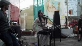 """""""Seven Stone"""" Singer Mali @ """"Divine Feminine"""" Art Showcase for 2012 Somerville Open Studios"""