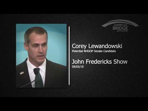 Preparing To Run For Senate, Lewandowski Mocks NH Republicans