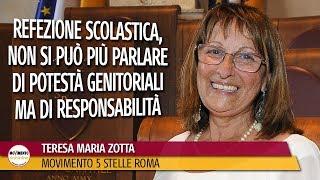 Zotta: Refezione scolastica, non si può più parlare di potestà genitoriali ma di responsabilità