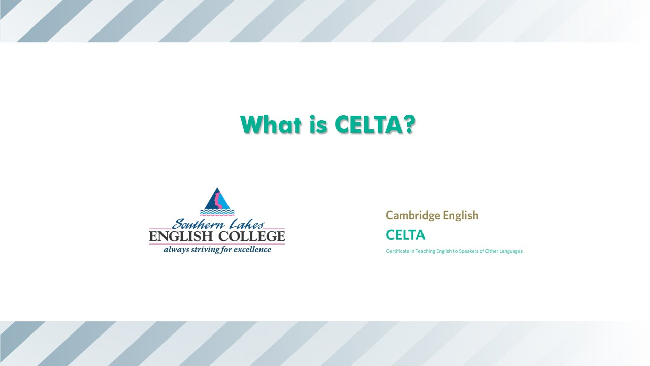 Slec what is celta youtube slec what is celta 1betcityfo Images