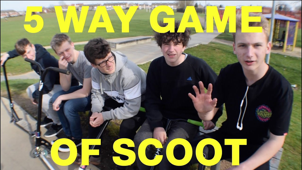 5 Way Game Of Scoot Youtube