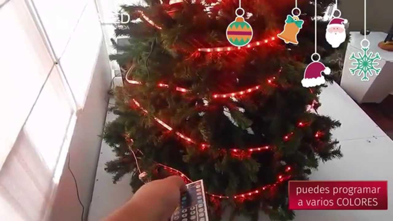 Illaled decoraci n de rbol de navidad con cinta led rgb - Cinta arbol navidad ...