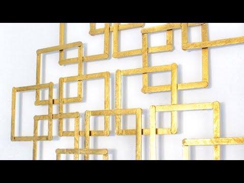 DIY Abstract Wall Decor
