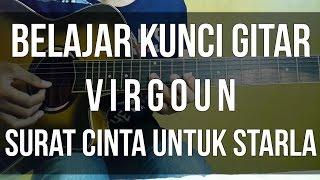 belajar kunci gitar virgoun surat cinta untuk starla