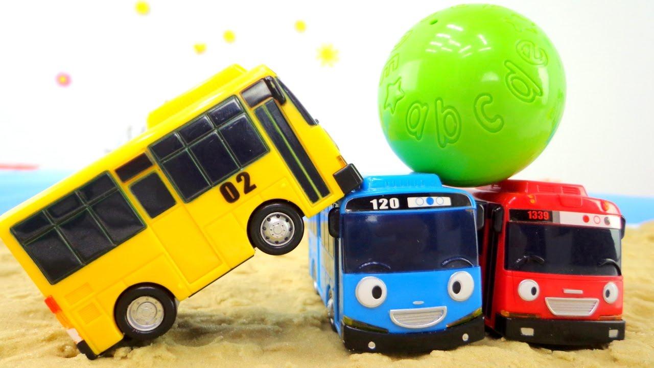 Приключения Тайо маленький автобус - Мультики про машинки ...