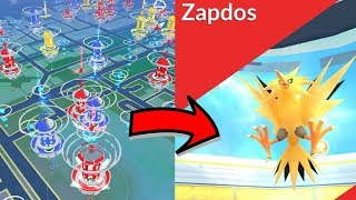 THE BEST PLACES TO SPOOF TO FOR ZAPDOS DAY IN POKEMON GO!