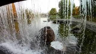 Осенние приключения в родном городе (птицы, белки, водопад и 'гондолы')