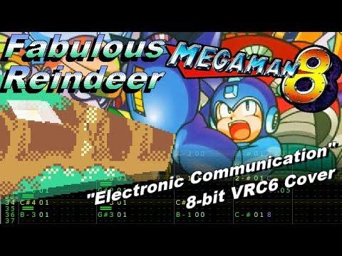 Mega Man 8: Electronic Communications 8-bit VRC6 Cover