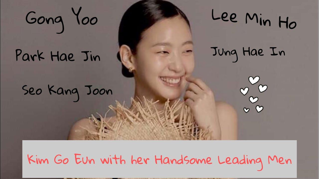 Kim Go Eun with her Handsome Leading Men